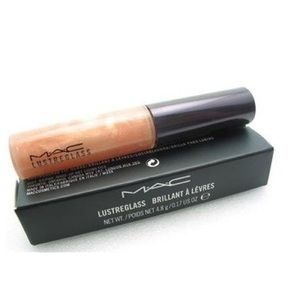 🆕MAC Cosmetics Lustreglass Lip Gloss Instant Gold